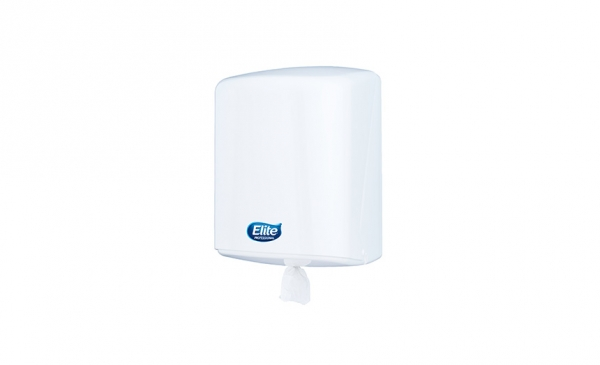 Dispensador Toalla ELITE Rollo Center Pull Blanco