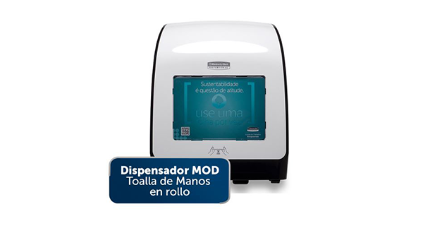 Dispensador MOD Toalla de Manos en rollo